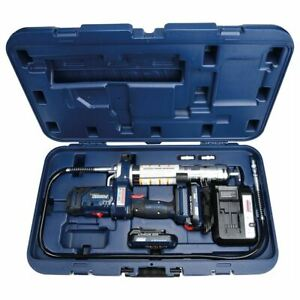 Lincoln 1888 PowerLuber 20V Li Ion 2 Speed Grease Gun Kit  with 2 Batteries