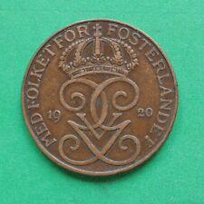 1920 Sweden 5 Ore SNo47410