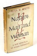 First Edition 1958 Nature Man and Woman Alan W Watts Hardcover w/Dustjacket