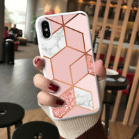 Marble Phone Case Cover For iPhone 12 Pro Samsung S20 Huawei Google Etc  115-1