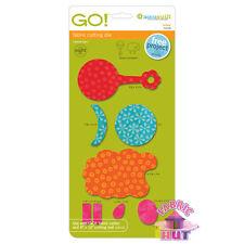 Accuquilt GO! Fabric Cutter Die Lullaby Baby Quilt Sew 55038