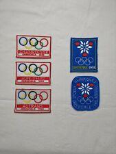 patch ecusson grenoble 1968 jo 68 jeux olympiques ski esf ffs snowboard