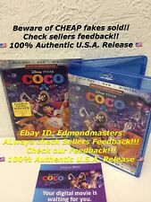 Coco (Blu-ray + Digital Code ONLY) NO DVD IS INCLUDED!! Please read Description!