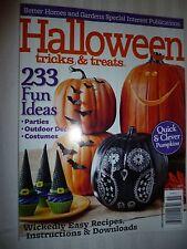 Better Homes & Gardens Halloween Tricks & Treats Parties Costumes Free Shipping!