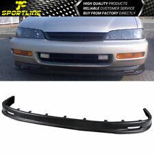 Fits 96-97 Honda Accord Mug Style PP Front Bumper Lip Spoiler Bodykit