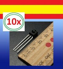 10x Receptor LED infrarrojo 38kHz carcasa VS1838 IR emisor 5mm 940nm Arduino