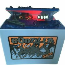 Godzilla Coin Piggy Bank Musical Monster Moving Electronic Robotic Toy Money Box