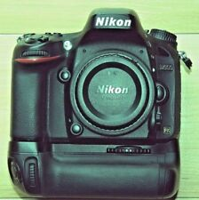 Nikon D600 24.3MP FX DSLR with genuine Nikon MB-D14 grip.