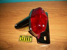 Taillight / Brake light 12 V chrome Lucas Cafe British Triumph BSA Honda Norton
