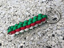 Italy Italian 5 6 Nations Rugby Football Paracord Keyring World Cup