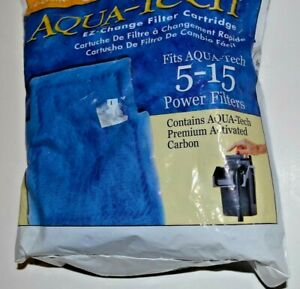 Aqua-Tech Power Aquarium Filter 5-15 #1 - 3 pack EZ change