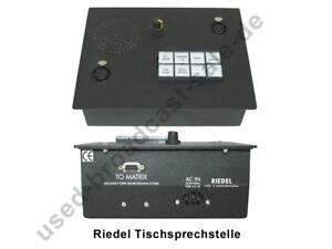 Riedel Tischsprechstelle - Tisch / Einbausprechstelle