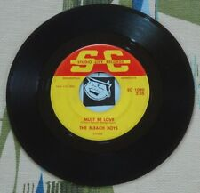 The Bleach Boys 45 Must Be Love / Wine Wine Wine 1965 Studio City Garage VG-