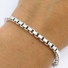 Tiffany & Co. 925 Sterling Silver Venetian Link Bracelet
