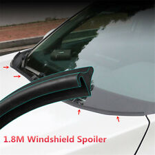 1.8M Car Front Windshield Rubber Strip Hood Spoiler Lip Trim Reduce Wind Noise 1