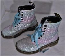 Dr Martens Rainbow Glitter Pascal Boots Size 7 EU 39
