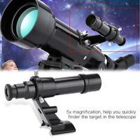 Datyson 5x24 Imaging Guide Scope Finderscope w/Bracket For Astronmical Telescope