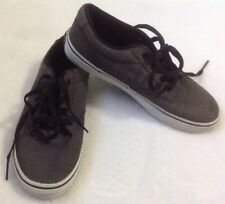 Vans Atwood Gray Sneakers Sz 5 Youth Shoes Skater Athletic Skateboarding Unisex