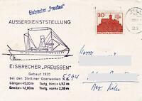 Polarpost BRD: EISBRECHER PREUSSEN - Außerdienststellung - 1967