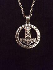 Il Martello di Thor Mjolnir pagane Viking MARVEL Loki Odin Norreno Ciondolo Collana
