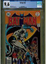 BATMAN #282 CGC 9.6 NEAR MINT +1976 ERNIE CHAN ART WHITE PAGES BLUE LABEL D.C.