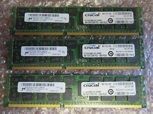 Micron MT36JSF1G72PZ-1G4M1HF (3x8GB) 24GB PC3-10600 DDR3 ECC CL9 240P Memory