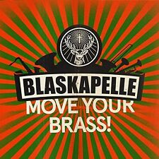 BLASKAPELLE - MOVE YOUR BRASS  CD NEU