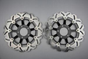Disques frein avant wave 300mm pour Suzuki GSX-R 400 R RL,RM,RN,RP,RS 1990-1995