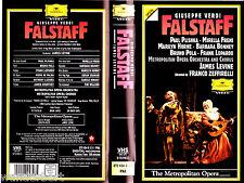 "VHS - "" Giuseppe Verdi - FALSTAFF "" (1993) - Paul Plishka - Mirella Freni"