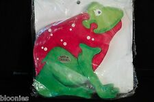 Costa Rica Red Tree Frog Wooden Reinforced Timber Puzzle (Alfaro Family)NEW