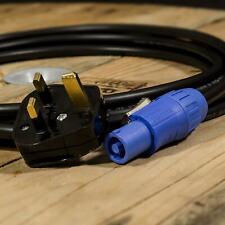 Bloccaggio Blu Altoparlante/amplificatore di potenza Lead. REGNO UNITO Spina per Twist Lock cavo di alimentazione