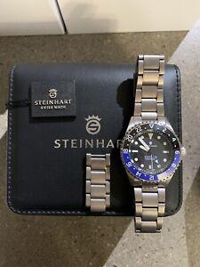 STEINHART Ocean One Titanium 500 GMT premium Ceramic 42 mm Auto Swiss ETA 2893-2