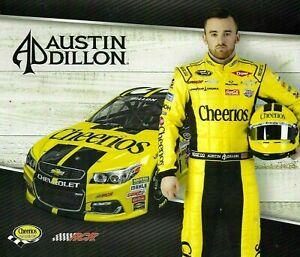 2016 AUSTIN DILLON #3 CHEERIOS RACING RCR NASCAR SPRINT CUP POSTCARD