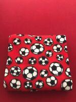 Red & Black Fleece Throw Blanket 50 x 60