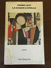 LA CHIAVE A STELLA - Primo Levi - Einaudi - 1979