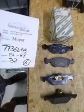 FIAT Brava Bravo 182 Punto 188 ORIGINAL Bremsbeläge Vorderachse vorne 77362149
