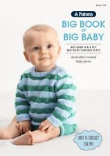 Knitting Pattern Book - 10 Designs in 4-8ply - Mod Knits in Big Baby