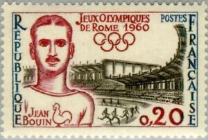 EBS France 1960 Olympic Games Rome - Jean Bouin (1888-1914) YT 1265 MNH**