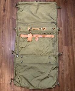 HARTMANN Luggage Garment Bag Tag - NO Shoulder Strap Folding Vintage