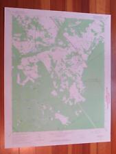 Jackson South Carolina 1967 Original Vintage USGS Topo Map