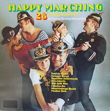 LP Burt Jackson Marching Band und Chor - Happy Marching,MINT-,ASTAN 50008