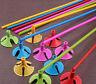 100* plastique ballon en multicolore porte-gobelet décoration de fête de mariage