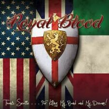 Royal Blood - Thanks Seattle, For Killing My Band & My Dreams NEW CD Hair Metal