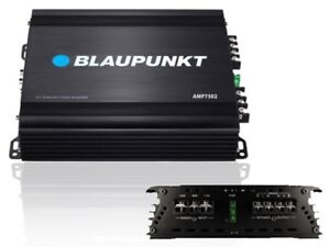 Blaupunkt AMP7502 750 Watts 2-Channel Class-AB Car Audio Amplifier/Amp