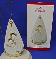 Hallmark Religious Ornament Holy Family 2014 Mary Joseph Baby Jesus Porcelain