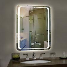 LEDs Illuminated Bathroom Mirrors Sensor 800x600mm Horizontal / Vertical Mounted