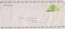 BD258) Nice Jamaica Reply P/Card bearing: $3 Plane X2 & $10 Ocean, Price: $10