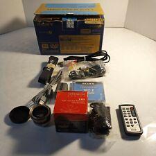 Sony Handycam Titanium Optics Lens And Accessories
