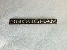 "Cadillac Brougham Chrome Emblem P# 10225621 ""New Other"""