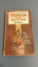 THONGOR at the End of Time paperback Lin Carter 1968
